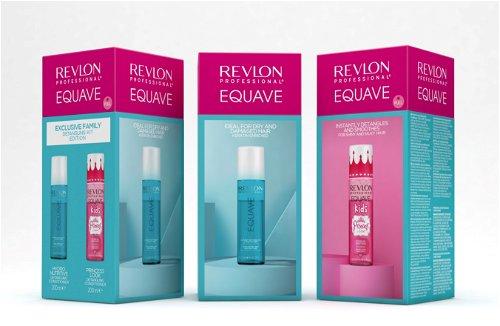 Prikaz Equave seta za hidrataciju i raščešljavanje kose za odrasle i za devojčice